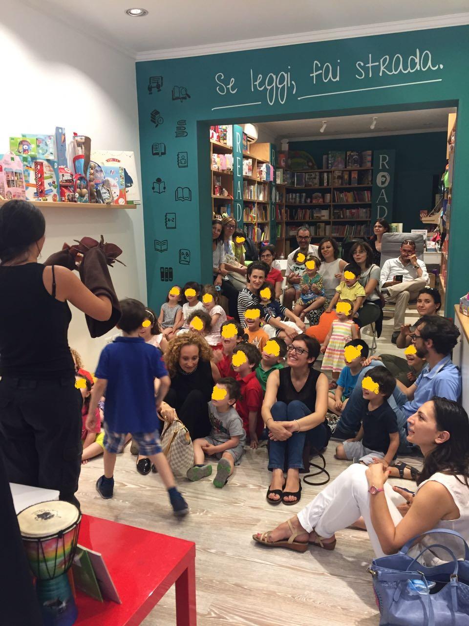 La prima libreria di Roma con eventi serali per bambini