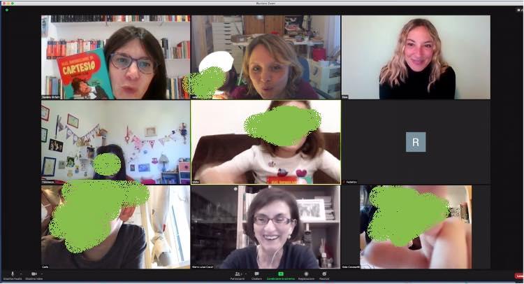 Gruppo di lettura e laboratorio su Zoom